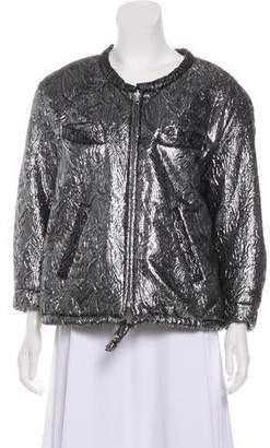 Isabel Marant Metallic Bomber Jacket