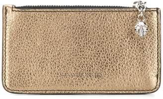 Alexander McQueen zipped cardholder wallet