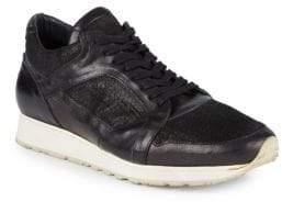 John Varvatos 315 Trainer Leather Low-Top Sneakers