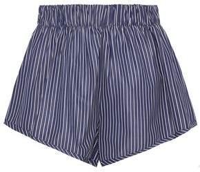Stella McCartney Pinstriped Cotton Shorts