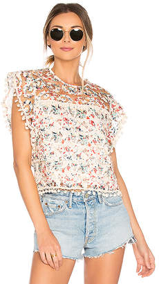Tularosa Kennedy Top in Ivory $148 thestylecure.com