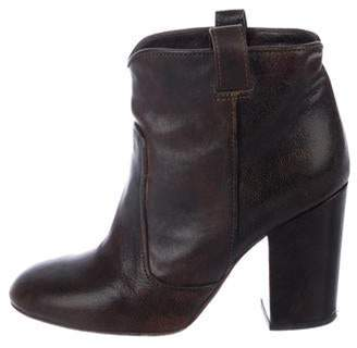 Laurence Dacade Leather Ankle Boots Brown Leather Ankle Boots