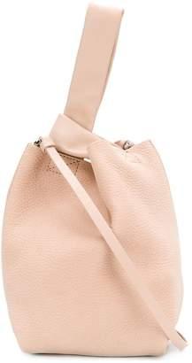 Theory bucket asymmetric shoulder bag