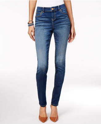 Inc International Concepts Curvy Beyond Stretch Skinny Jeans, Only at Macy's $79.50 thestylecure.com