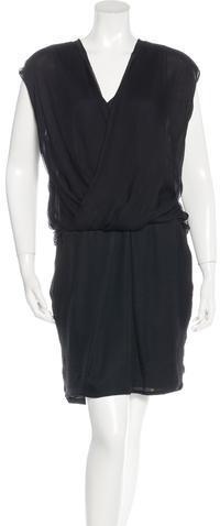 Alexander WangAlexander Wang Silk Knee-Length Dress w/ Tags