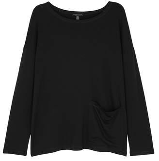 Eileen Fisher Black Jersey Top