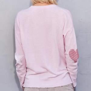 Sundry Petal Pink Star And Heart Jumper - 0 - Pink