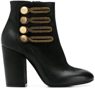 Strategia military ankle boots