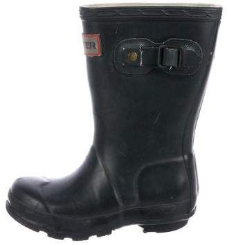 Hunter Kids' Rubber Rain Boots