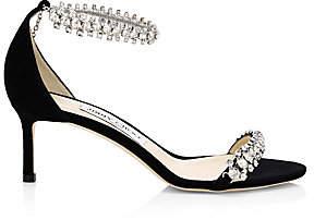 Jimmy Choo Women's Shiloh Embellished Suede Sandals