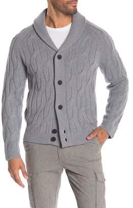 Theory Merino Wool Button Sweater