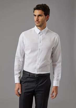 Giorgio Armani Seersucker Shirt
