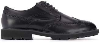 Tod's lined Oxford brogues