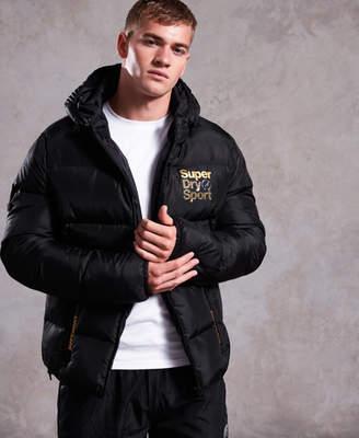 Superdry Gym Tech Gold Puffa Jacket