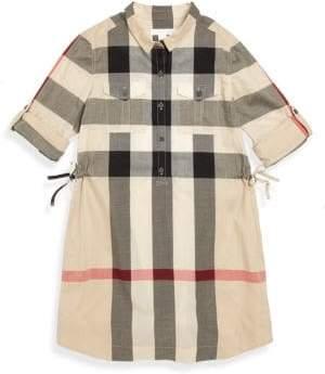 Burberry Little Girl's& Girl's Darielle Shirtdress