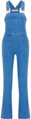 Stella McCartney - Stretch-denim Overalls - Blue $875 thestylecure.com