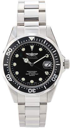 Invicta 17046 Silver-Tone & Black Pro Diver Watch