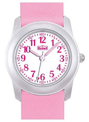 Scout Girls' Analogue Quartz Watch with PU Strap 280306004
