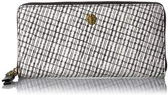 Anne Klein Women's Slim Zip Around Wallet