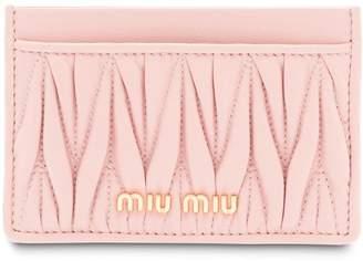Miu Miu (ミュウミュウ) - Miu Miu matelassé cardholder