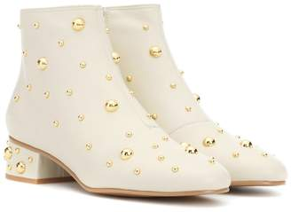 See by Chloe Jarvis studded leather ankle boots