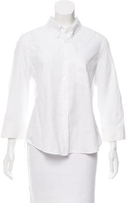 Boy. by Band of Outsiders Collared Button-Up Top $70 thestylecure.com