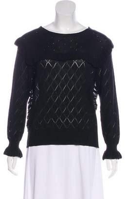 McGuire Denim Pointelle Long Sleeve Sweater w/ Tags