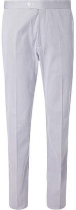 Connolly Striped Stretch-Cotton Trousers