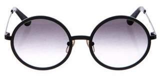 Sunday Somewhere Charlie Round Gradient Sunglasses