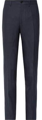 Rubinacci Luca Slim-Fit Slub Linen Trousers