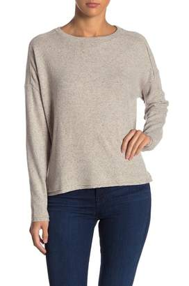 Three Dots Donegal Drop Shoulder Boxy Sweater