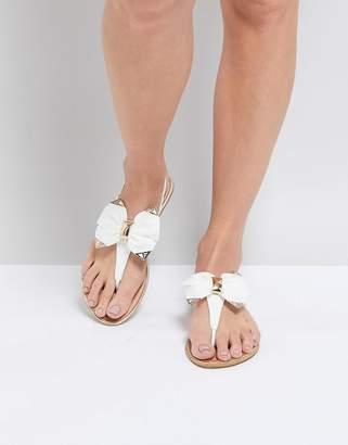 Silvia Rossini Pia Nemo Bow Flat Sandal