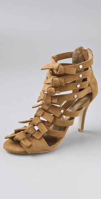 Twelfth St. By Cynthia Vincent Ava Suede Sandals with Bows