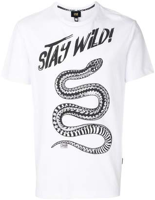 Class Roberto Cavalli snake print T-shirt
