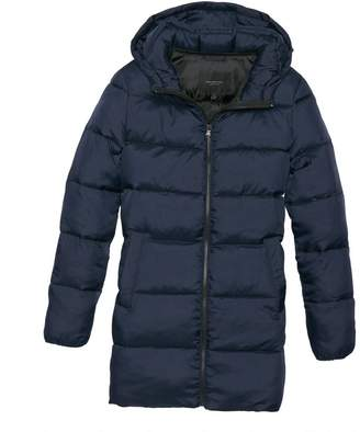 Andrew Marc BETTY ZIP UP PUFFER WITH HOOD
