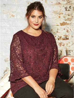 e2fc4bb18d864 Sheer Blouses Plus Size - ShopStyle UK