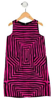 Milly Minis Girls' Printed Shift Dress