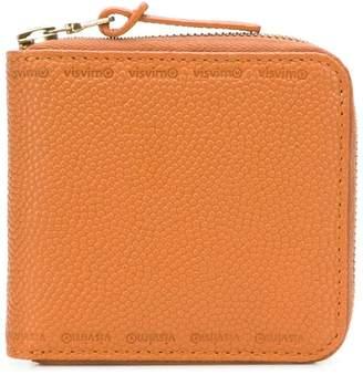 Visvim zipped bi-fold wallet