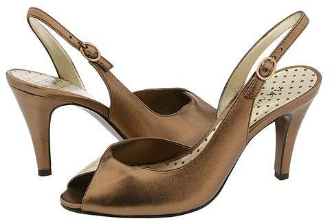 AK Anne Klein - Halima (Bronze/Gold Leather)