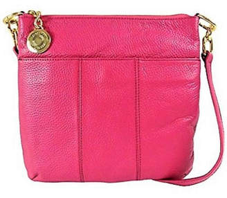 Tommy Hilfiger Leather Fuchsia Crossbody