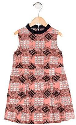 Marni Junior Girls' Printed Sleeveless Dress