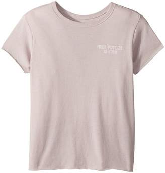 Spiritual Gangster Kids The Future Short Sleeve Tee Girl's T Shirt