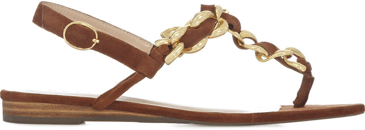 Gigi STATEMENT CHAIN SANDALS