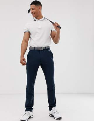adidas Ultimate 365 3-stripe tapered trousers in navy