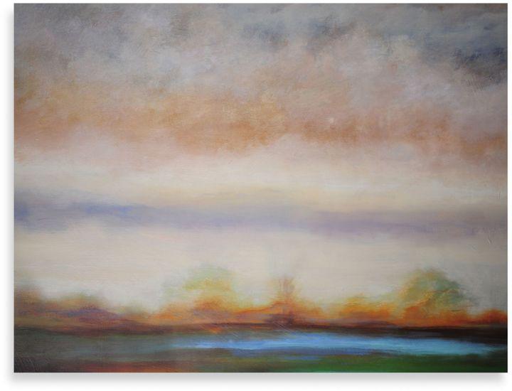 "Bed Bath & BeyondStarlie Sokol-Hohne ""Vista 6"" Canvas Art"