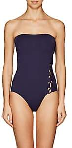 Eres Women's Anne-Sophie Lace-Up One-Piece Swimsuit - 00691-Slow