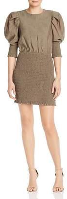 Rebecca Minkoff Geneva Smocked Mini Dress