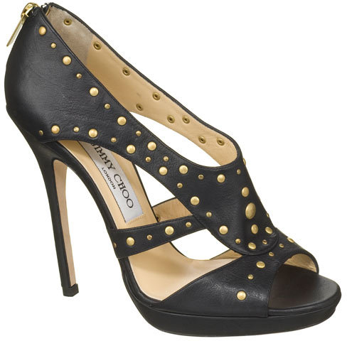 Prairie Soft leather sandal with metal studs