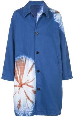 Calvin Klein printed midi coat