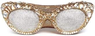 Judith Leiber 'Sugar Eyeglasses' crystal pavé minaudière